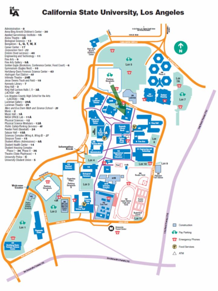 Image of CSULA Map