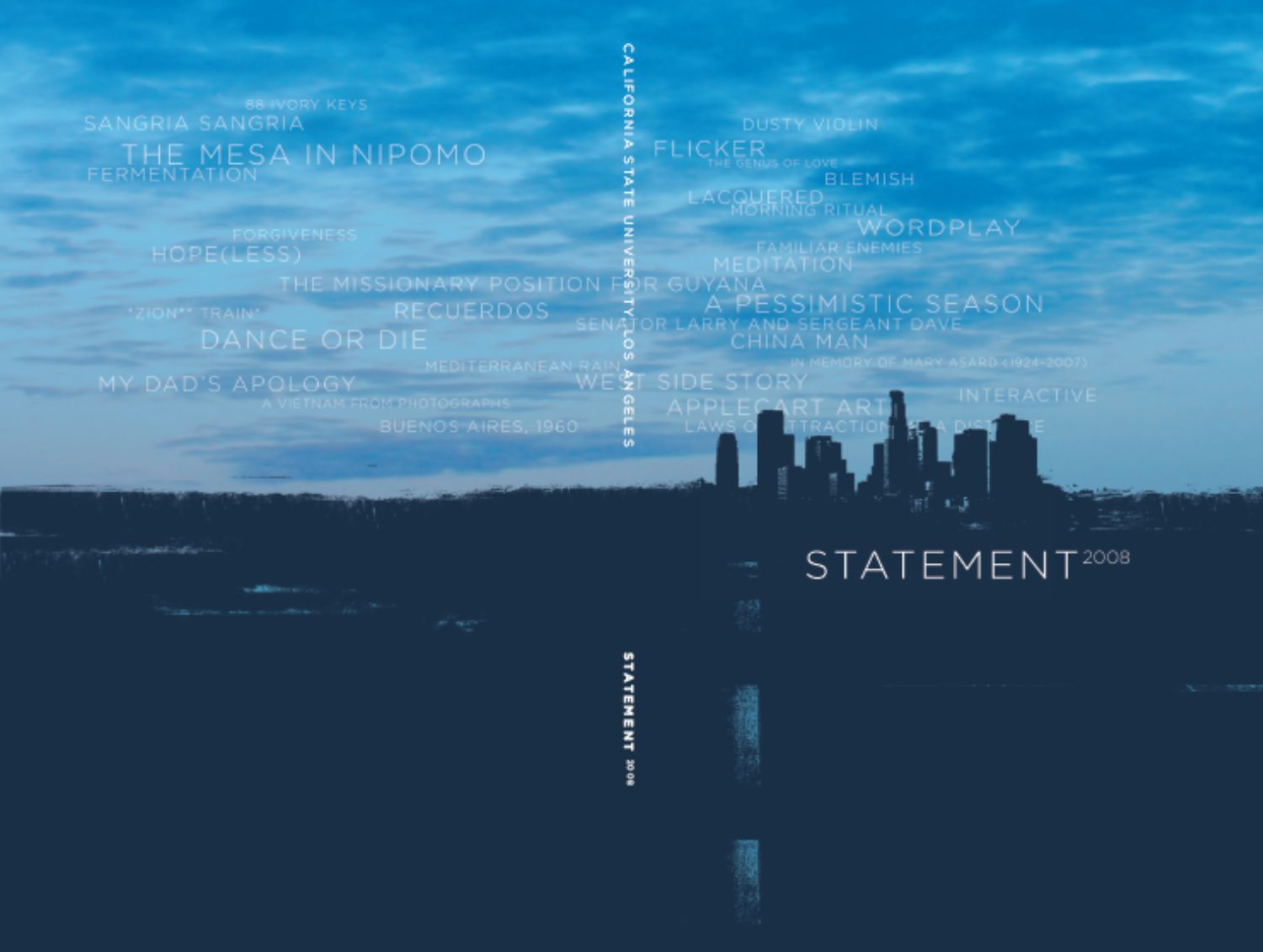 Photo of Statement 2008 Cover Art
