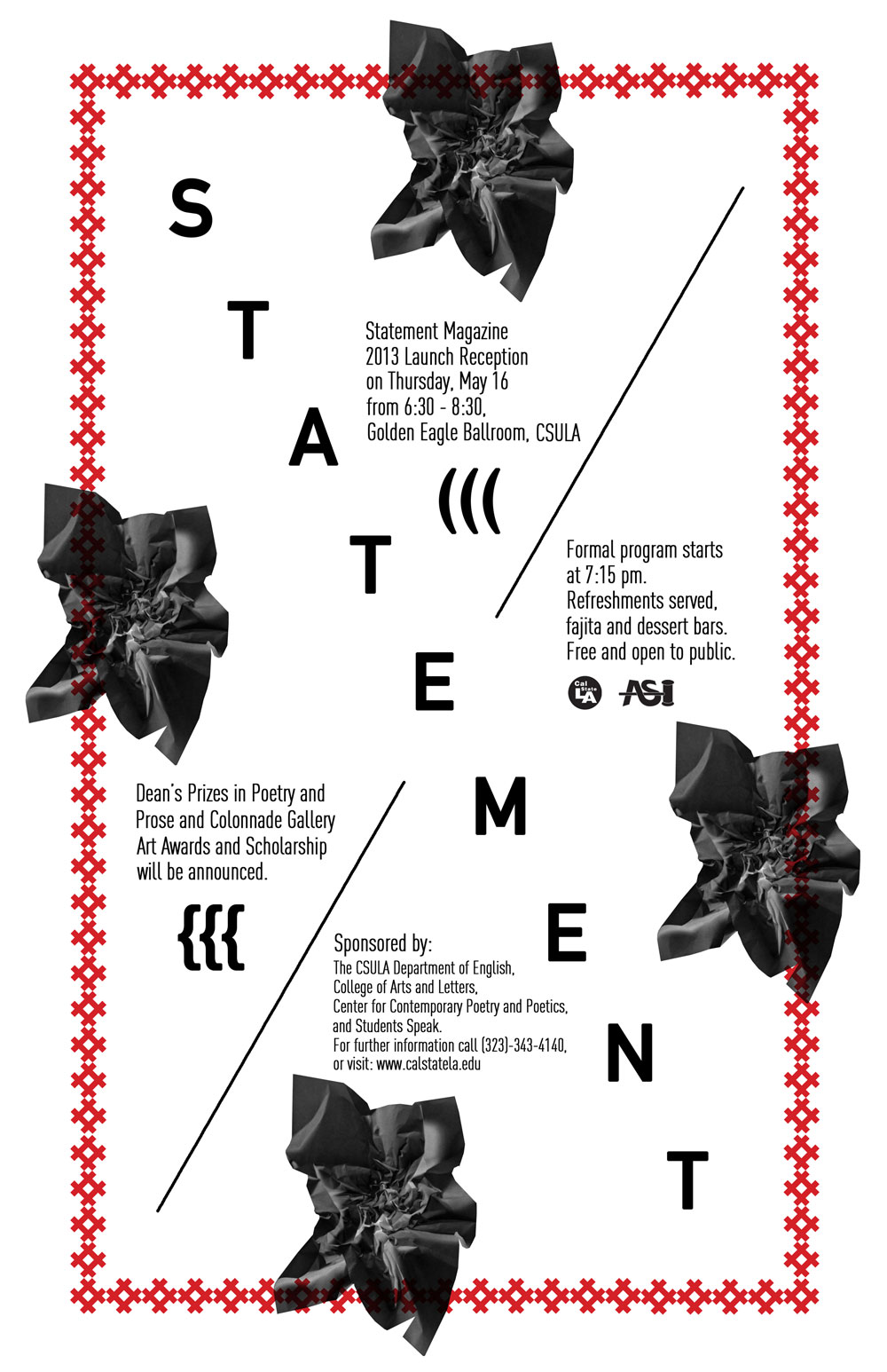 image of Statement 2013 Launch flyer