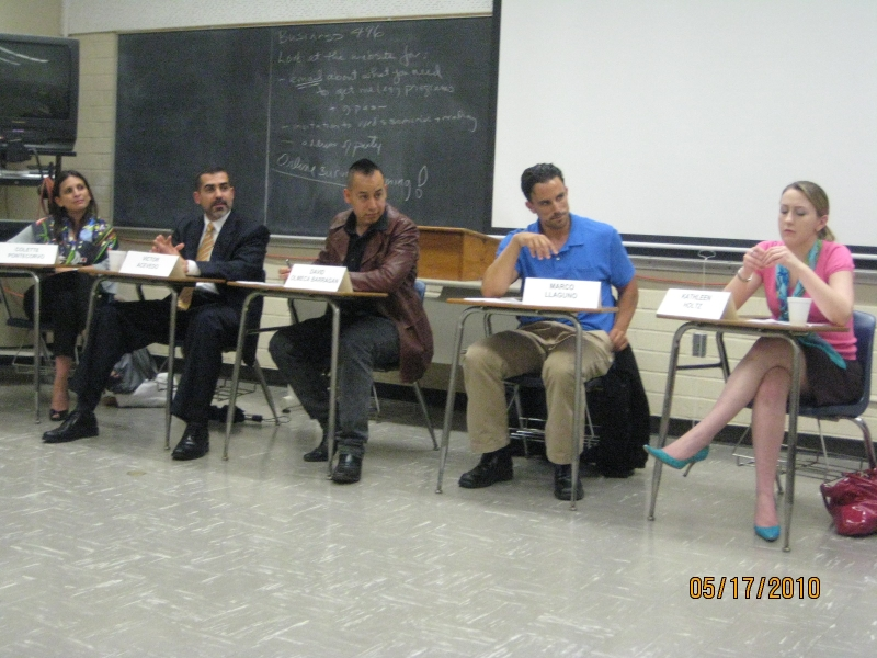 Alumni Panel at Senior Seminar