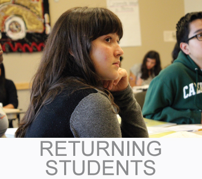 returning student applicants  link