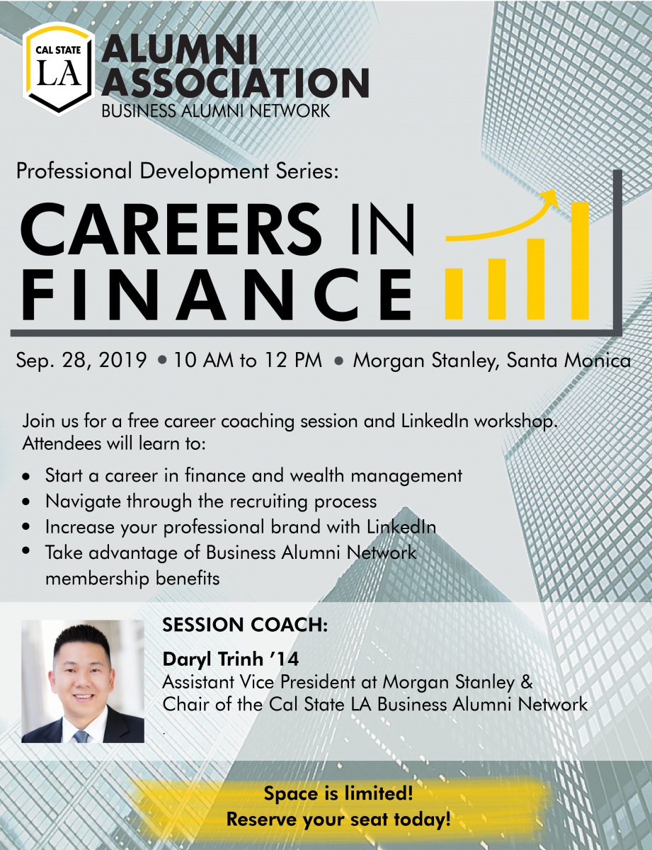 Careers in Finance   Cal State LA