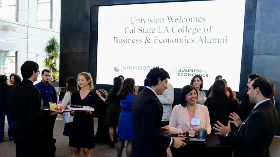 Cal State LA at Univision Networking Event