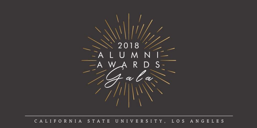 2018 Alumni Awards Graphic