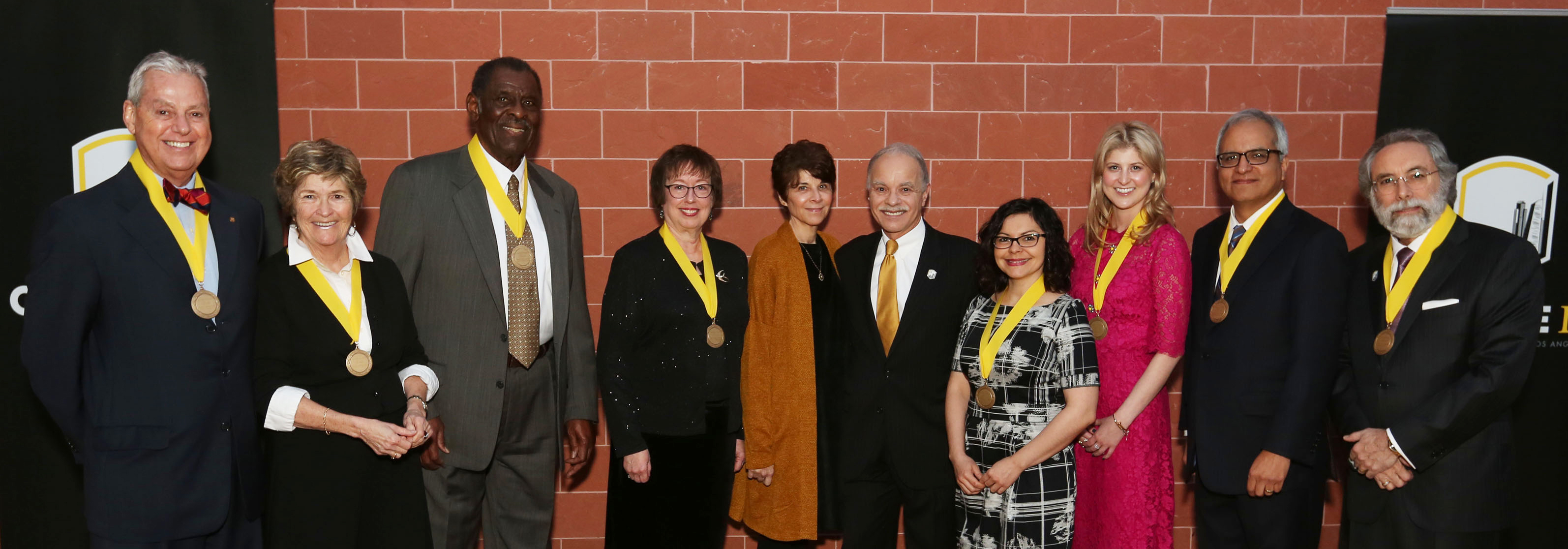 Recipients of the 2017 Alumni Awards
