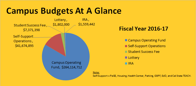 Campus Budgets At A Glance FY 16-17