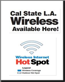 Cal State LA Wireless Hot Spots