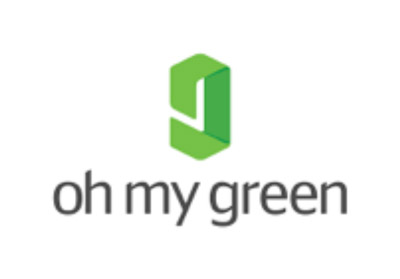 Oh My Green logo