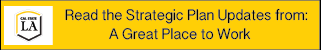 Read the Strategic Plan Updates from: A great Place to work