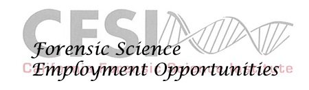 Link to Forensic Science Employment Opportunities