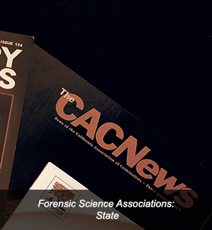 Link to Forensic Science Associations: State