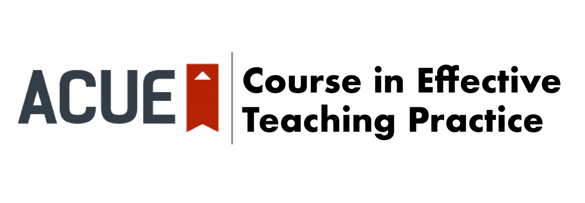 ACUE Banner - Course in Effective Teaching Practices