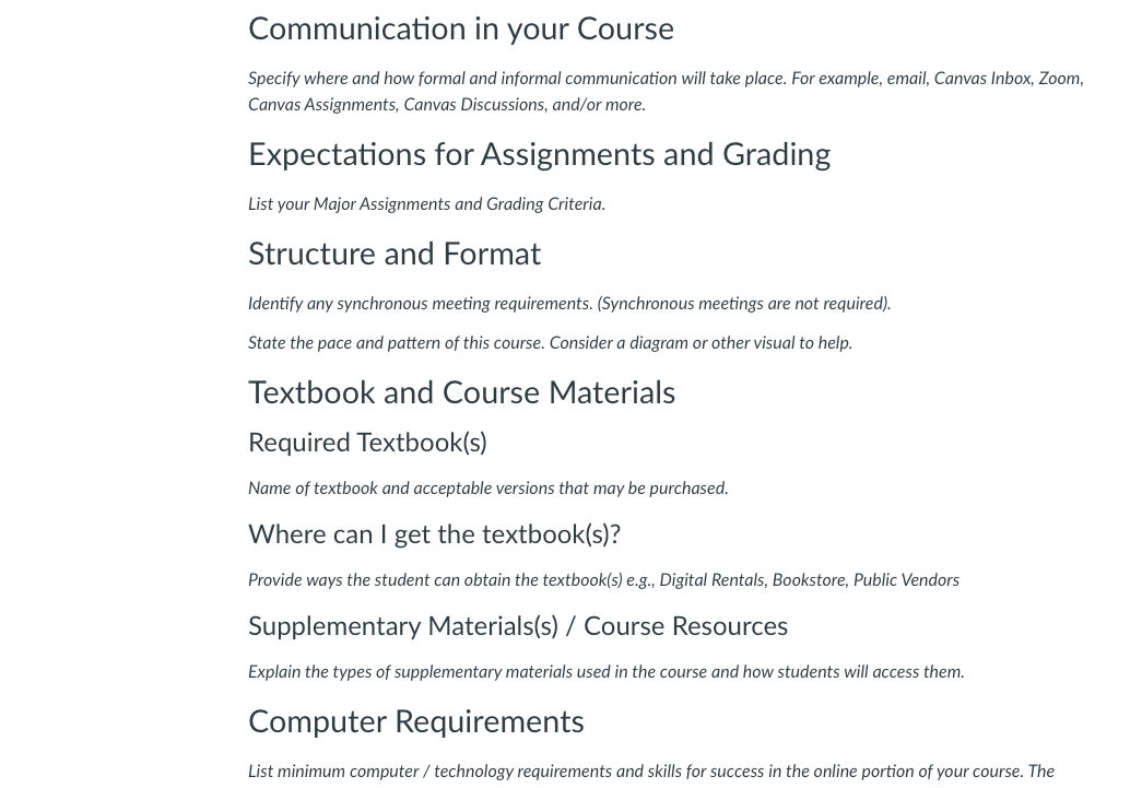 Course Overview and Structure