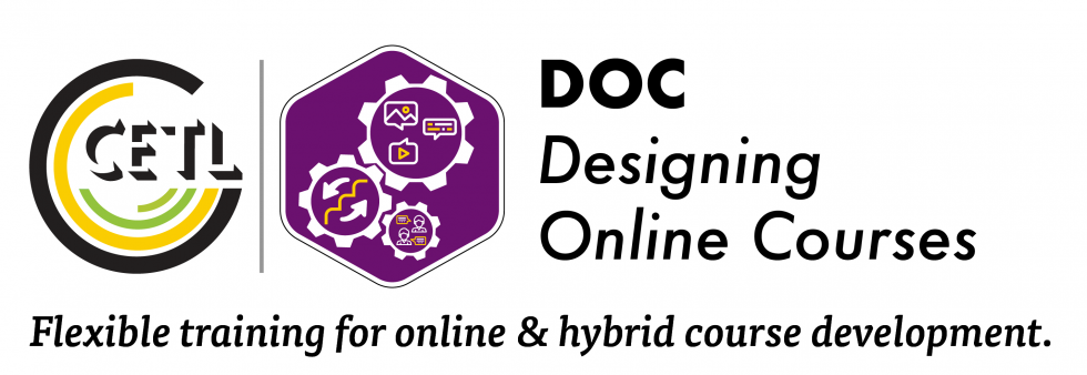 Designing Online Courses Program