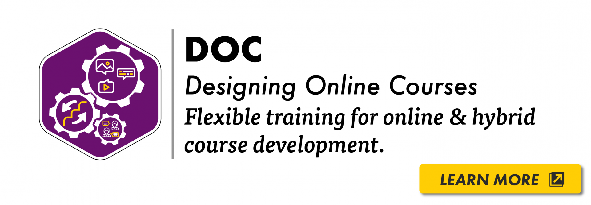 Designing Online Course Certificate Logo