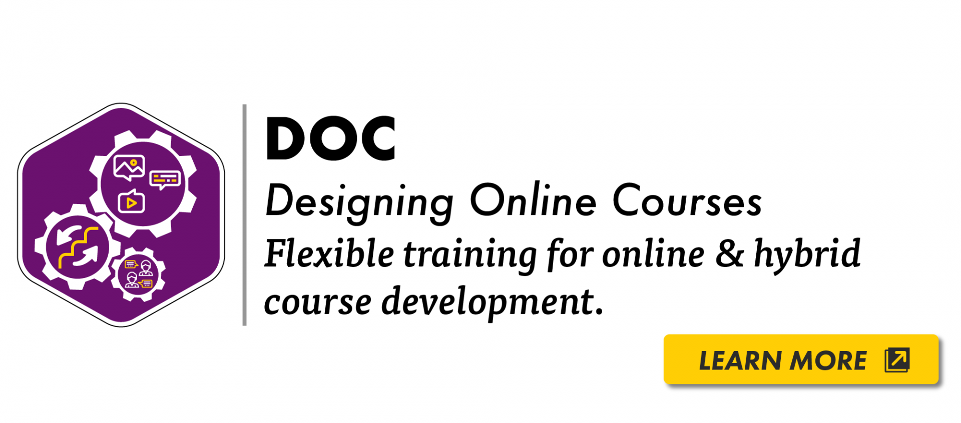 DOC Designing Online Courses learn more