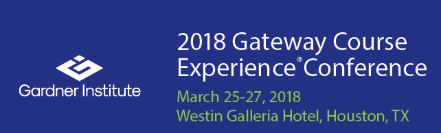 Gateway Course Experience Conference