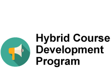 Hybrid Course Design Program