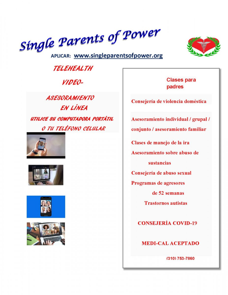 Single Parents - Spanish
