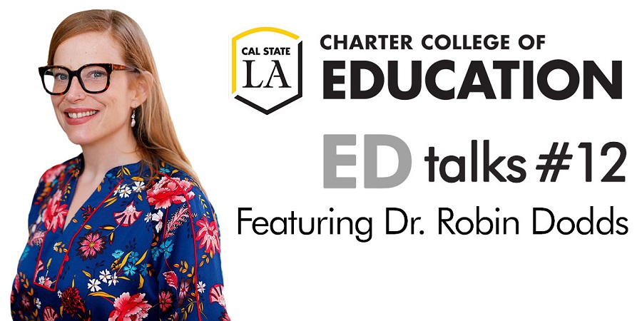 Ed Talks Podcast by Dr. Robin Dodds