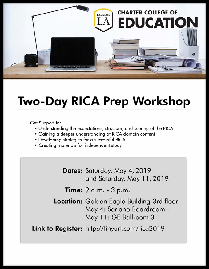 Picture of two day RICA prep workshop