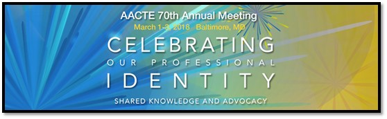 AACTE 70th Annual Meeting Banner