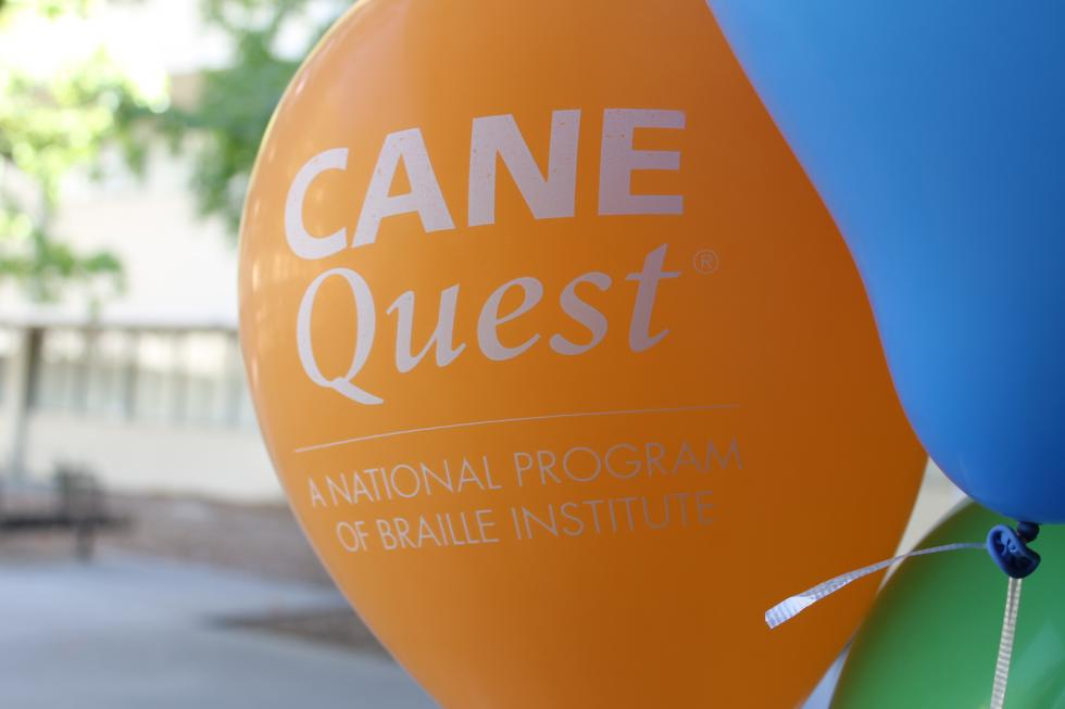 Image of a Cane Quest Balloon