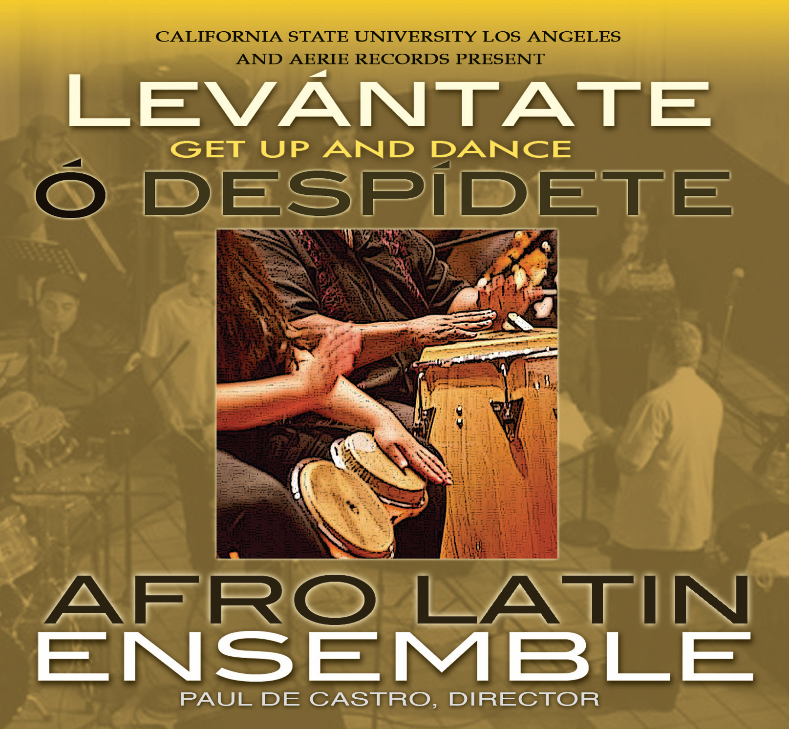 Afro Latin Ensemble Front Cover
