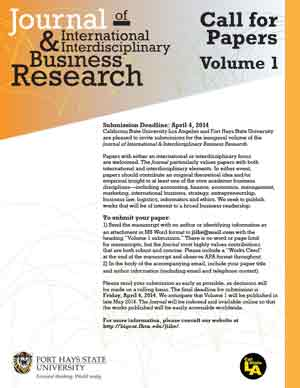 Call for papers journal of business research