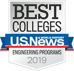 US News 2018 Best Engineering Programs Badge