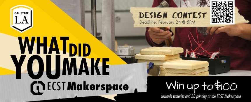 Design Contest: What did you make at the ECST Makerspace? Win up to $100 in printing credit