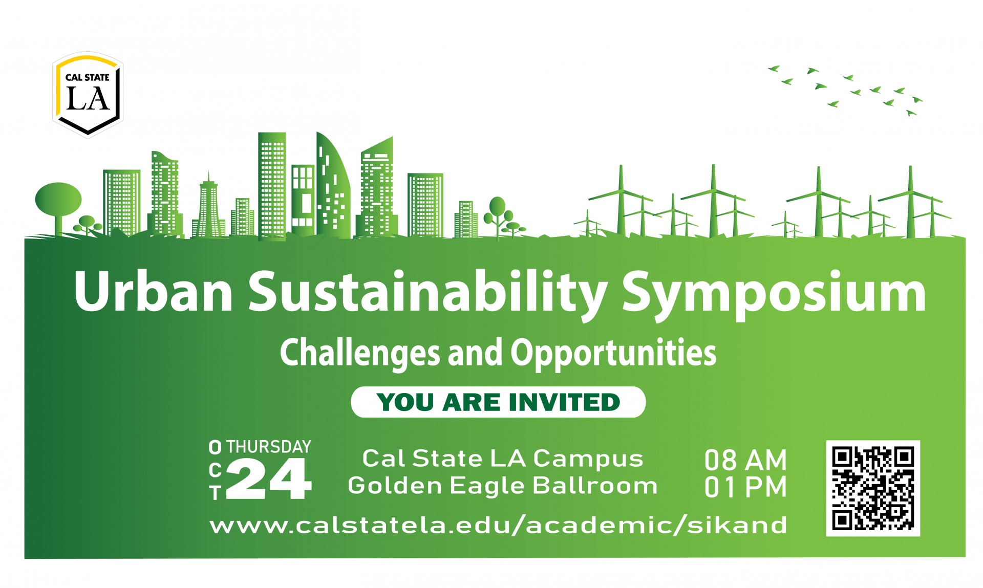 The Urban Sustainability Symposium by Sikand SITI-Center