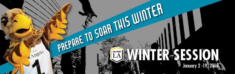 Prepare to Soar this Winter. Winter Session January 2-19, 2019