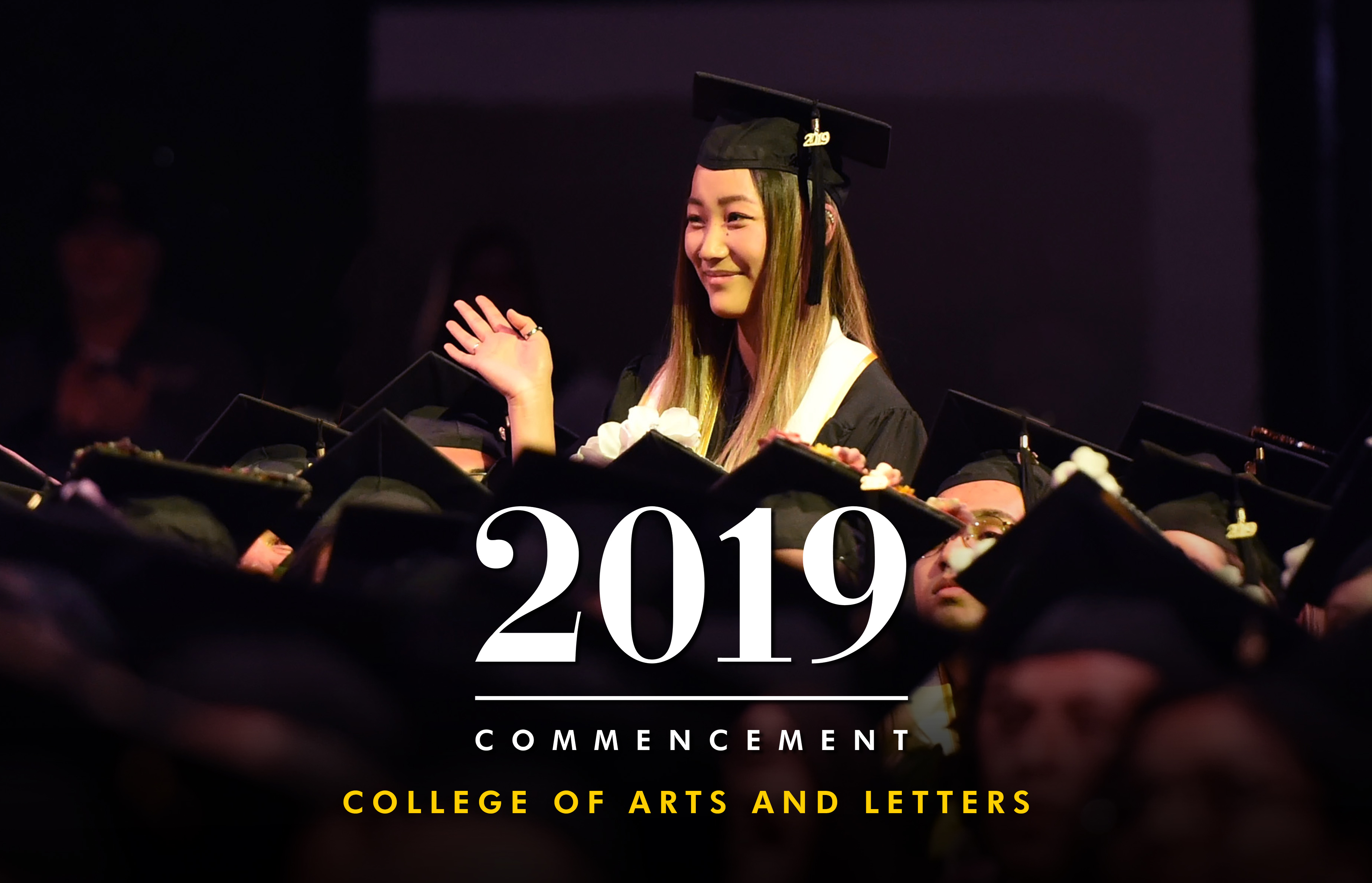 College of Arts of Letters Commencement Ceremony Photo