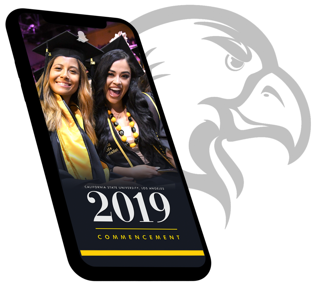 Image of Snapchat filter for Commencement 2019