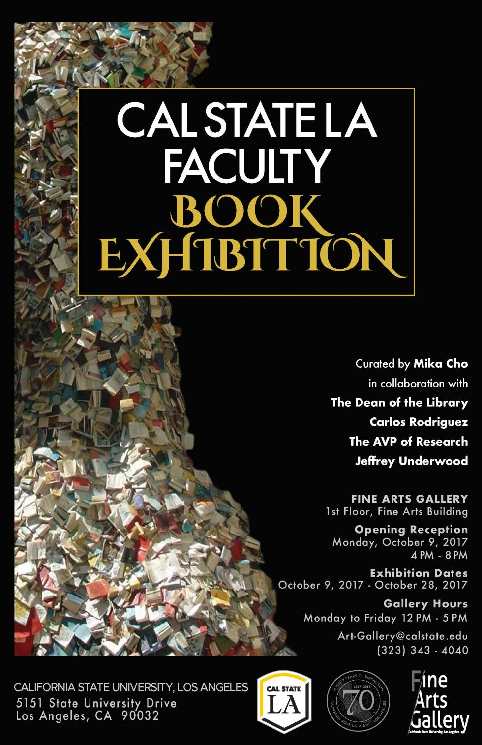 Faculty Book Exhibition