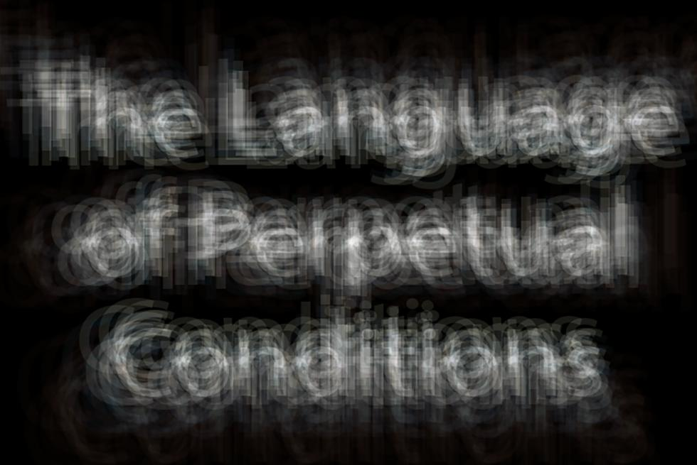 Language of Perpetual Conditions