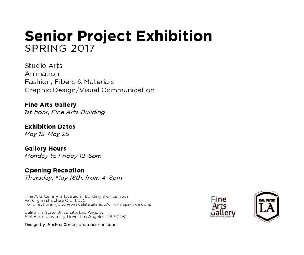 Senior Project Exhibition