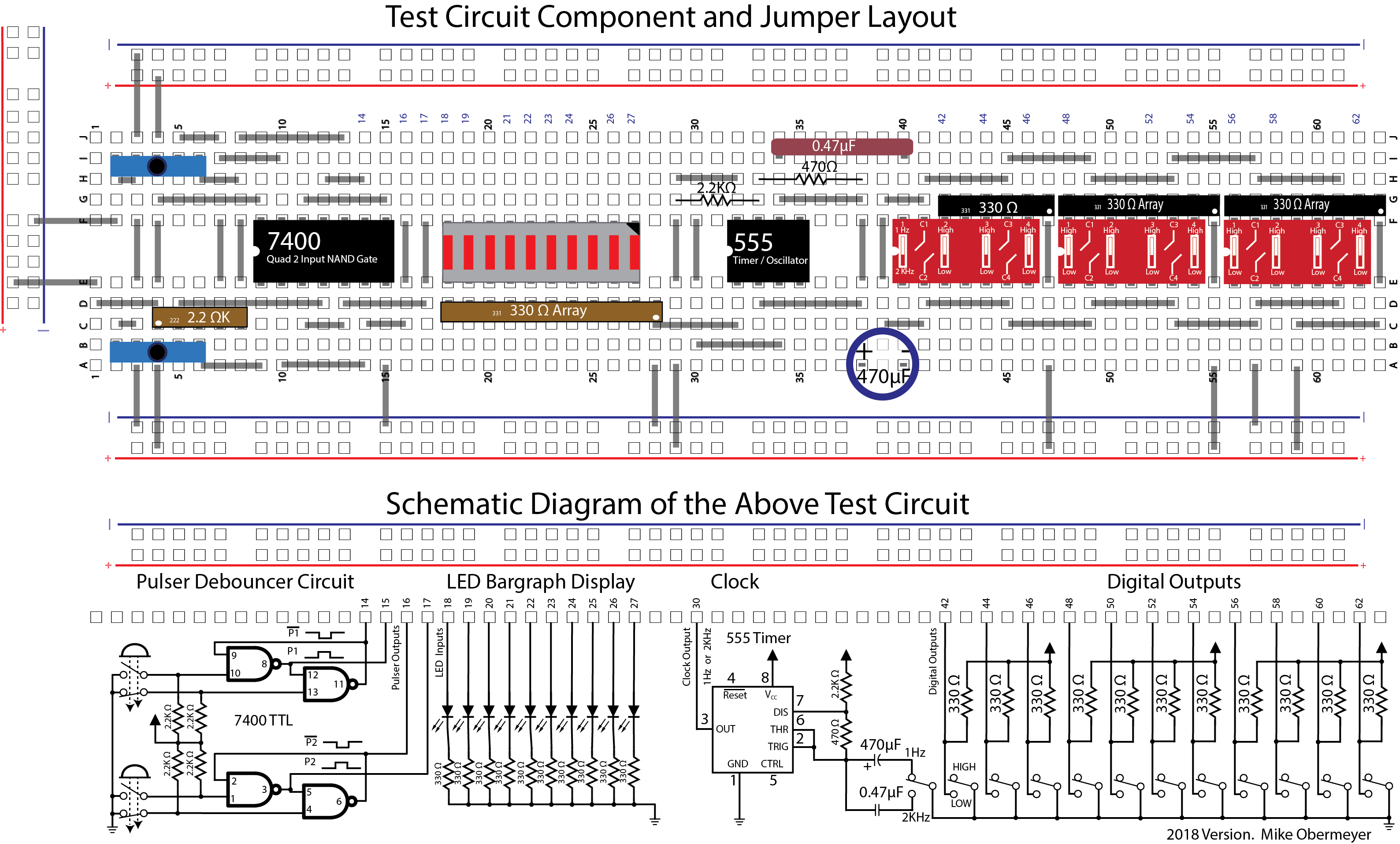Breadboard Test Circuit Cal State La Diagram Using Layout Schematic Photo Illustrator Drawing Expresssch