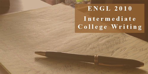 ENGL 2010 Intermediate College Writing