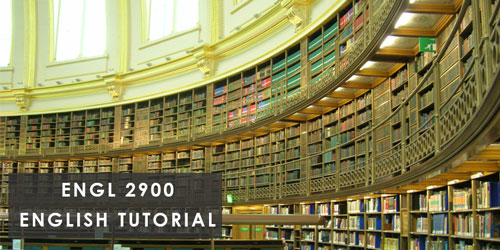 ENGL 2900 English Tutorial