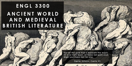 ENGL 3300 Ancient World and Medieval British Literature