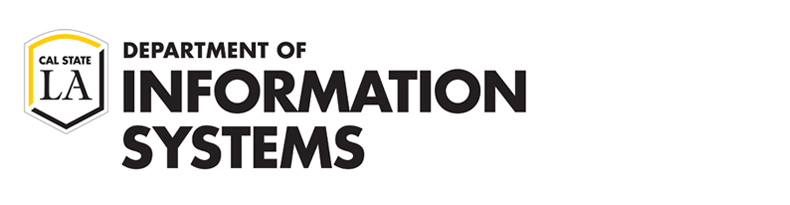 Cal State LA Department of Information Systems