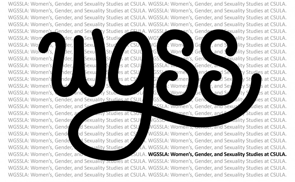 logo for WGSS center and program at Cal State LA