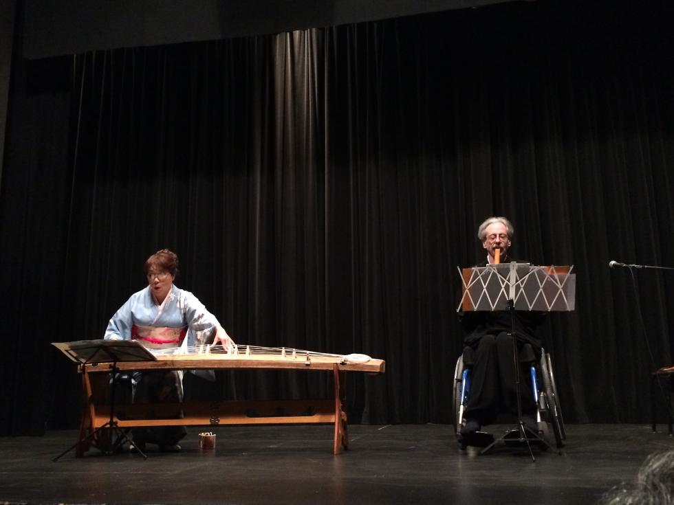 CSULA Japan Week 2015: Koto and Shakuhachi