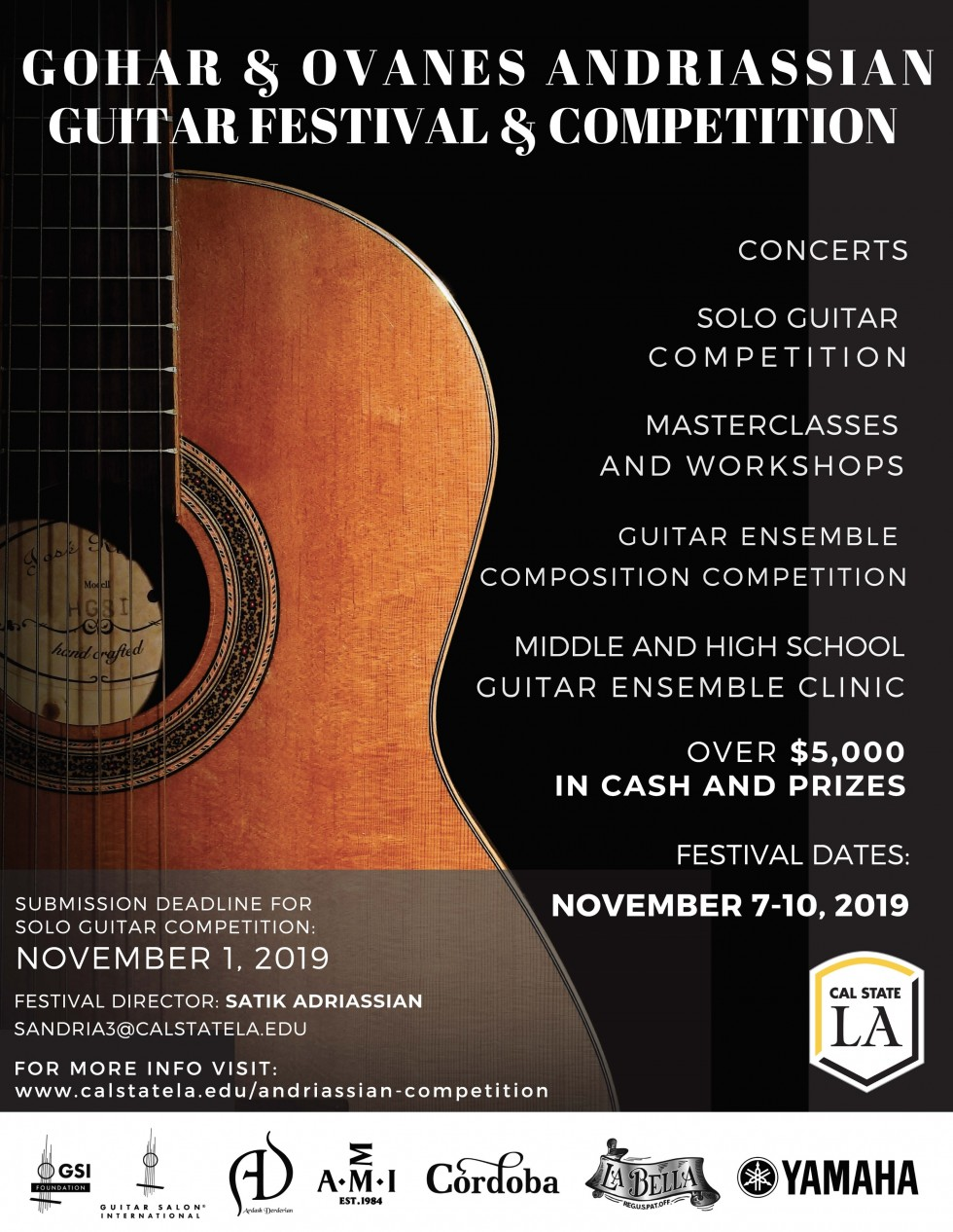 Gohar and Ovanes Andriassian Classical Guitar Competition