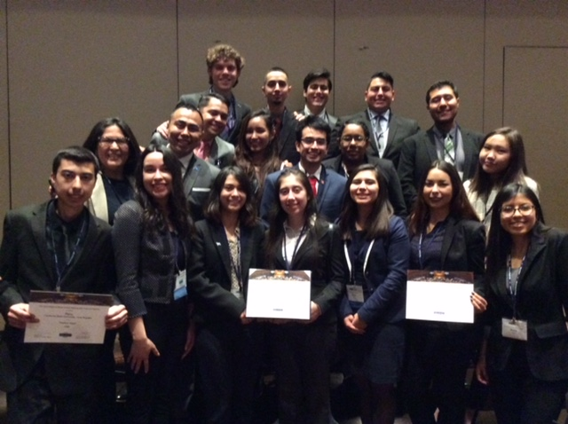 1aed0a5313c Cal State LA was awarded Distinguished Delegation in its representation of  Peru at the Model United Nations conference in New York City