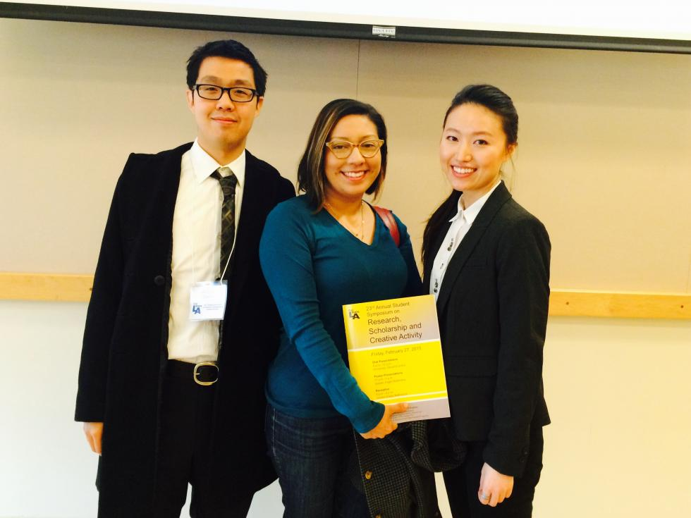 Psychology students participated in the 2016 RSCA Student Research Symposium