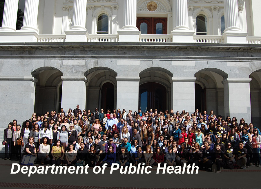 Link to Department of Public Health Welcome page