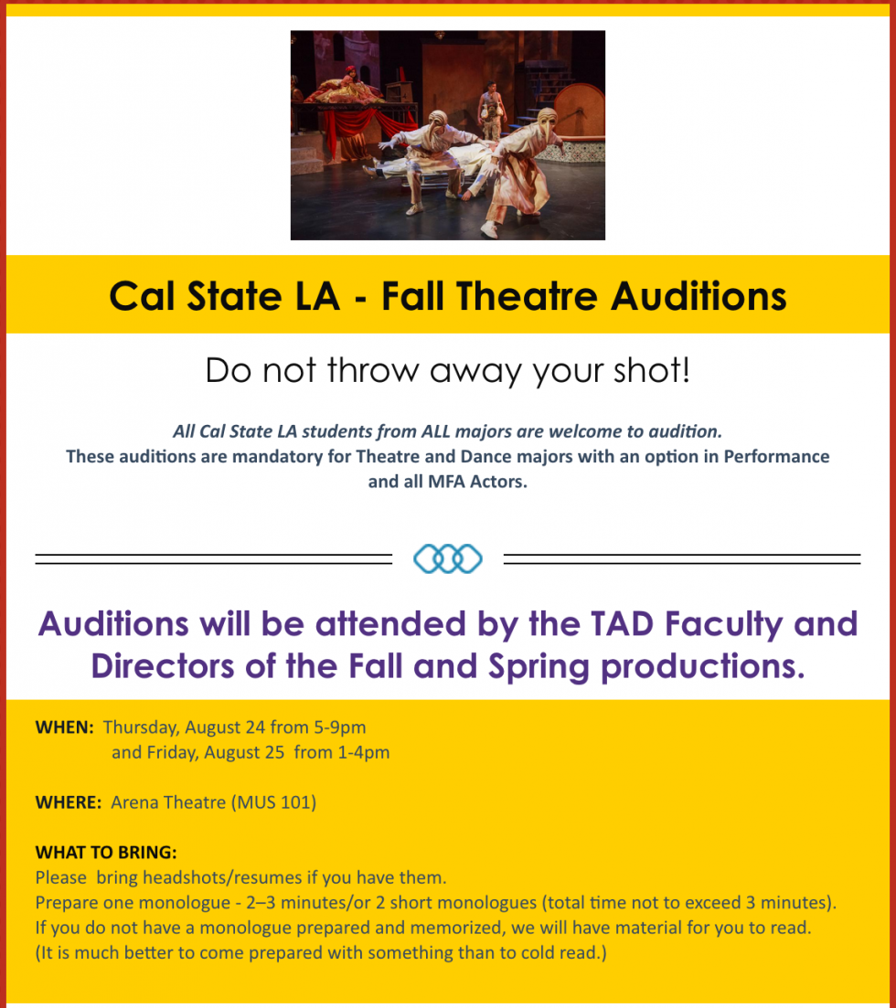 audition announce
